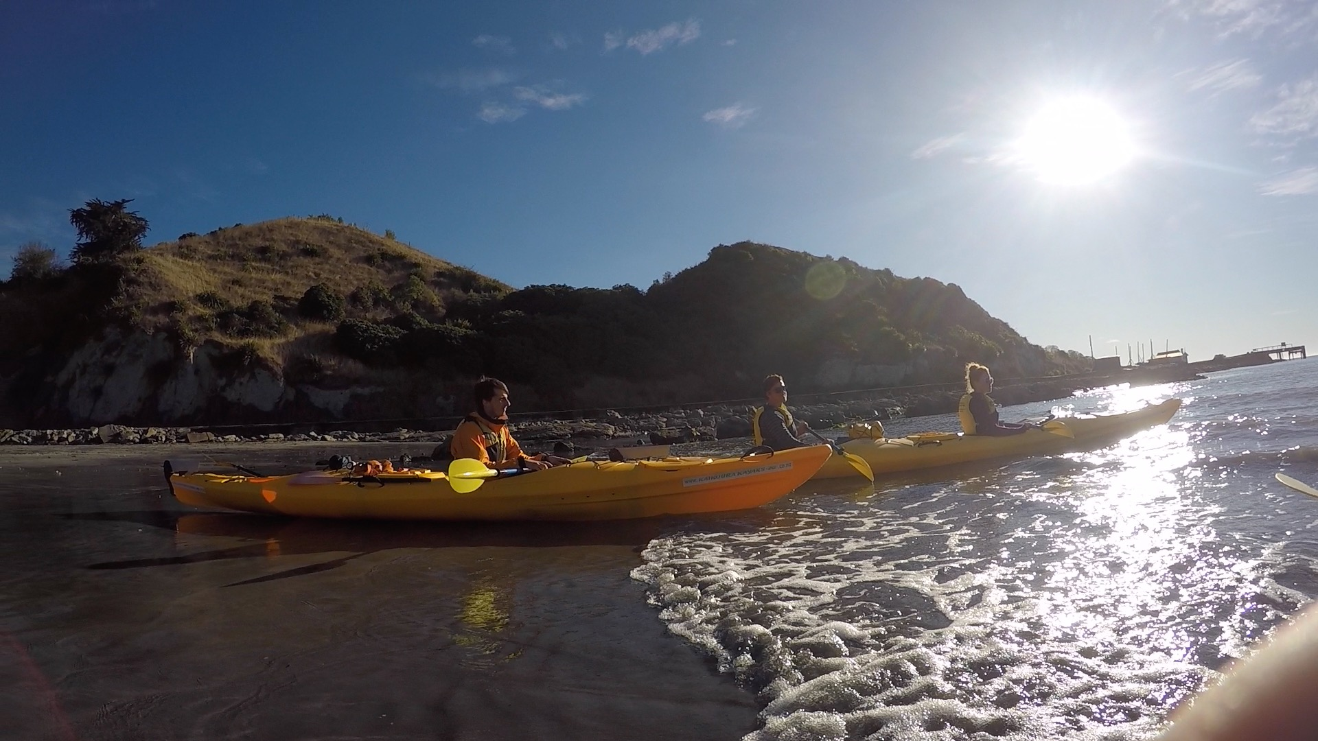 Kayaking Kaikoura
