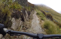 Mountain Biking The Old Ghost Road in The West Coast New Zealand