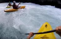 Kayaking Huka Falls